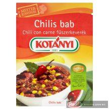 Kotányi chilis bab fűszerkeverék 25g