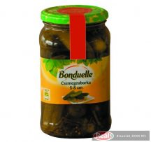 Bonduelle uhorky nakladačky 5-8cm 370g/750ml