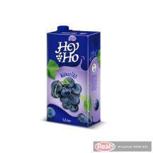 Hey-Ho gyümölcslé 1l 12% kékszőlő dobozos