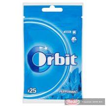Orbit Peppermint mentaízű cukormentes rágógumi 25db