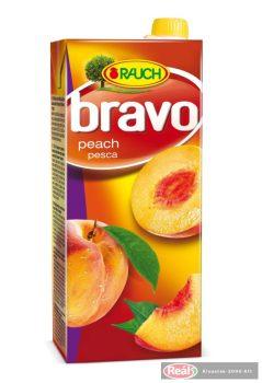Bravo gyümölcslé 25% 1,5l őszibarack dobozos
