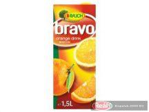 Bravo gyümölcslé 12% 1,5l narancs dobozos