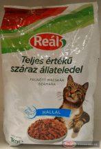 Reál Teljes értékű macskaeledel száraz hal 1kg