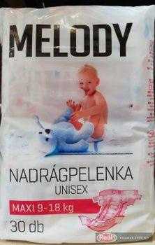 Reál Melody pelenka 30db maxi 8-18kg