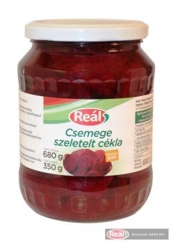 Reál Csemege Cékla szeletelt 720ml/350gTT üveges