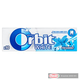 Orbit rágógumi 10db 14g White classic