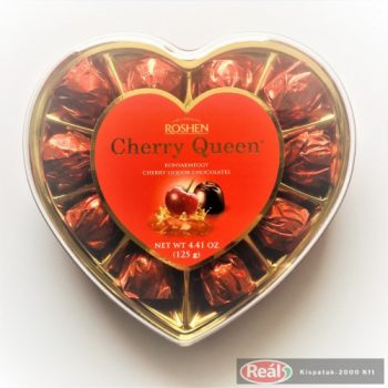 Cherry Queen konyakmeggy 125g szív