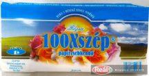 100x Szép papírzsebkendő 3 rétegű 80db rózsa