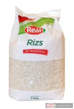 """Reál """"B"""" minőségű rizs 1kg"""