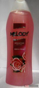 Melody habfürdő 1l Rose & Cream