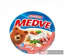 Medve ömlesztett sajt 200g sonkás