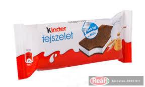Kinder Tejszelet tejes töltésű sütemény 28 g
