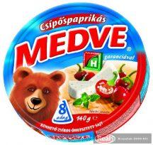Medve ömlesztett sajt 140g csípőspaprikás
