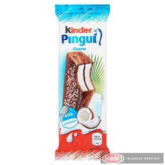 Kinder Pingui Cocco tejcsokival bev.tejes-kókuszkr.süti 30g