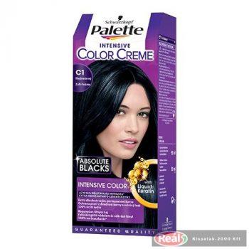 Palette farba na vlasy C1 modročierna
