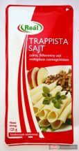 Reál szeletelt sajt 125g natúr trappista