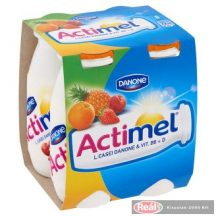 Danone Actimel joghurtital 4 x 100g vegyes gyümölcs