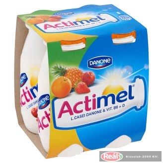 Danone Actimel jogurtový nápoj 4x100g ovocný