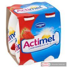 Danone Actimel joghurtital 4 x 100g eper