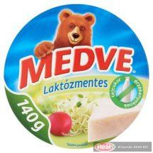 Medve ömlesztett sajt 140g laktózmentes