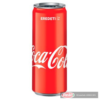 Coca Cola szénsavas üdítő 0,33l dobozos
