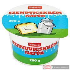 Kiskanna sendvičový krém - natur 200g