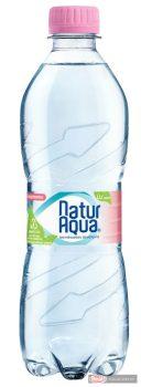 Naturaqua ásványvíz 0,5l szénsavmentes PET