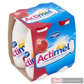 Danone Actimel joghurtital 4 x 100g Super C gránátalma-áfonya