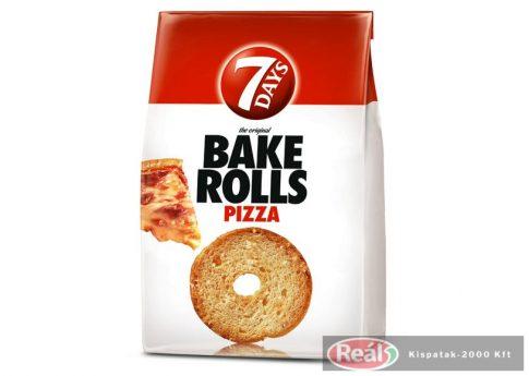 7 Days bake rolls chrumkavé chipsy pizzové 80g