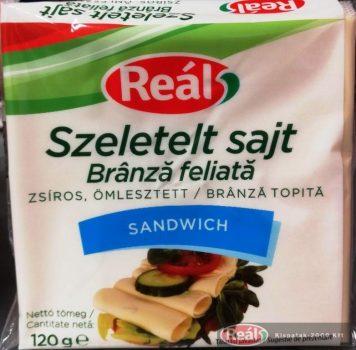 Reál sajtszelet sandwich 120g
