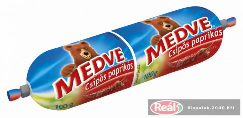 Medve 100g ömlesztett tömlős sajt csípős
