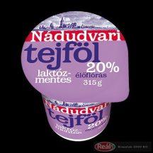 Nádudvari tejföl laktózmentes 315g 20%