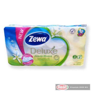 Zewa Deluxe toalettpapír 3 réteg 8 tekercs jázmin illat