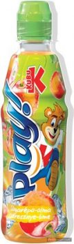 Kubu Play mrkva+malina+limetka+jablko 400ml