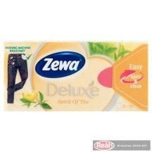 Zewa Deluxe papírzsebkendő 3 rétegű 90db spirit of tea