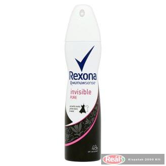 Rexona női izzadásgátló deospray 150ml Invisible pure
