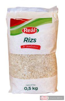 """Reál """"B"""" minőségű rizs  0,5kg"""
