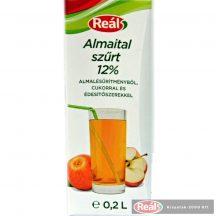 Reál Almaital 12% 0,2l gyümölcslé dobozos